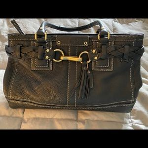 COACH Hampton leather carryall bag XL